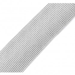 Bias tape lurex silver