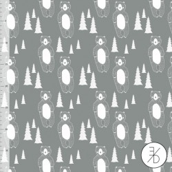 Elvelyckan Design - Panda grey