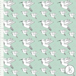 Elvelyckan Design - Mint Hummingbird