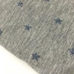 Jersey glitter stars