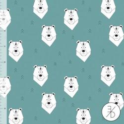 Elvelyckan Design - Polar bear aqua