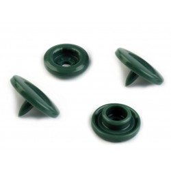 Kunststoff Druckknöpfe grün 18''