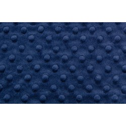 Minky dimple - Navy