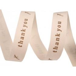 Printed cotton ribbon