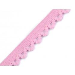 Decorativo elastico rosa