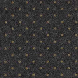 France Duval-Stalla - Grey wool gold dots
