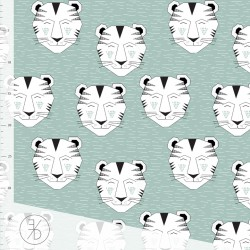 Elvelyckan Design - Tiger dusty mint
