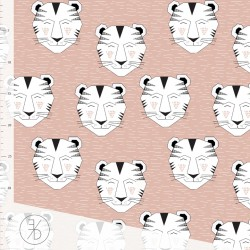 Elvelyckan Design - Tiger dusty pink