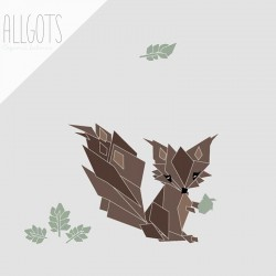 Allgots - Siv the Squirrel - Grey