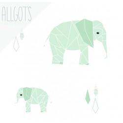 Allgots - Elsie Elephant - Mint