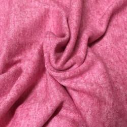 Jersey rose chiné