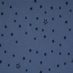 Jersey étoiles bleu