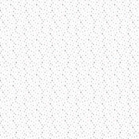 Small crosses white cotton
