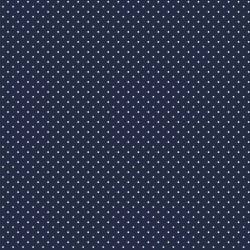 Navy dots cotton