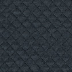 France Duval-Stalla - Dark gray quilted jersey