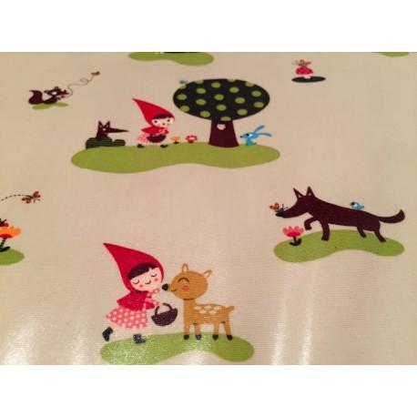 pin coupon petit chaperon rouge 45x55 fond tissus par on pinterest. Black Bedroom Furniture Sets. Home Design Ideas