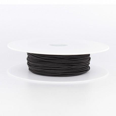 Elastique noir 1.5mm