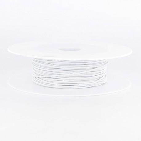 Elastique blanc 1.5mm