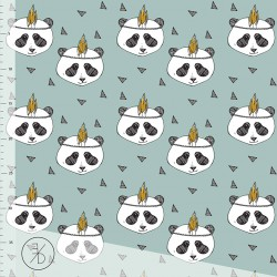 Elvelyckan Design - Panda dusty mint