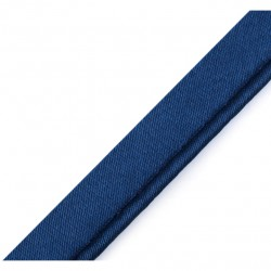 Passepoil satin bleu marine - 10mm