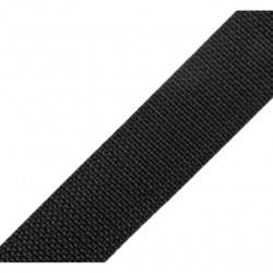 Sangle noire - 25mm