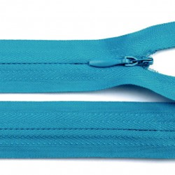 Fermeture invisible - turquoise