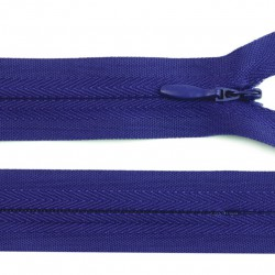Fermeture invisible - bleu-violet