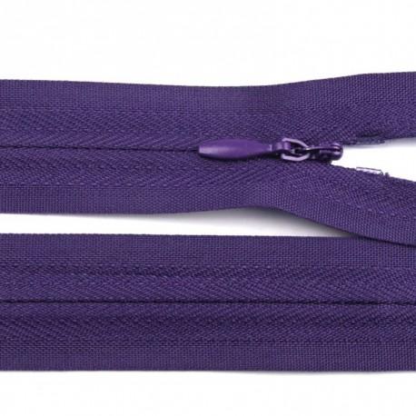 Fermeture invisible - violet