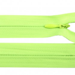 Fermeture invisible - vert fluo