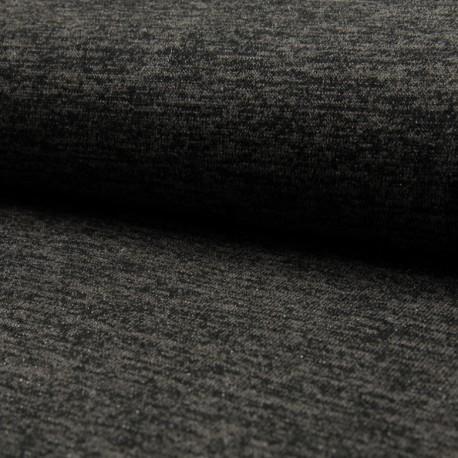 Maille gris lurex