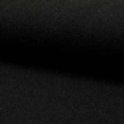 Maille noire lurex