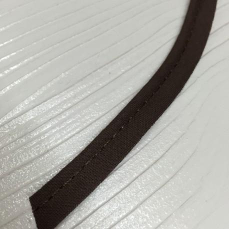 Passepoil uni chocolat