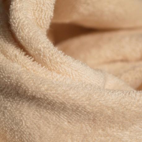 Organic-cotton micro-terry mono face