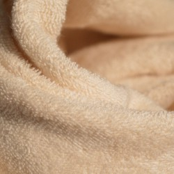 Molleton micro-éponge coton bio double face
