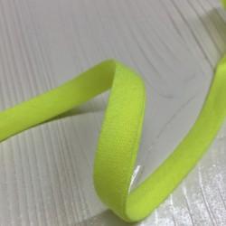 Bias tape fluorescent yellow