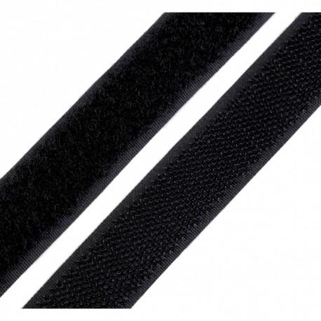 Black velcro - 20mm