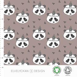 Elvelyckan Design - Sweat Panda mauve