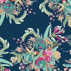Art Gallery Fabrics - Coquet Bouquet Splendid