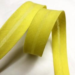Bias tape yellow united