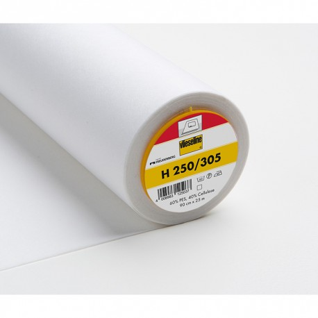 Vlieseline H250 - Fusible interlining white
