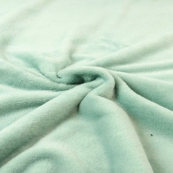 Micro-fleece double-sided mint