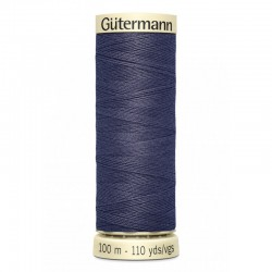 Gütermann sewing thread blue grey (875)