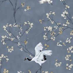 Crane bird cotton