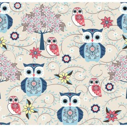 Owl cotton