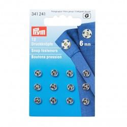 Prym press studs to sew 6mm