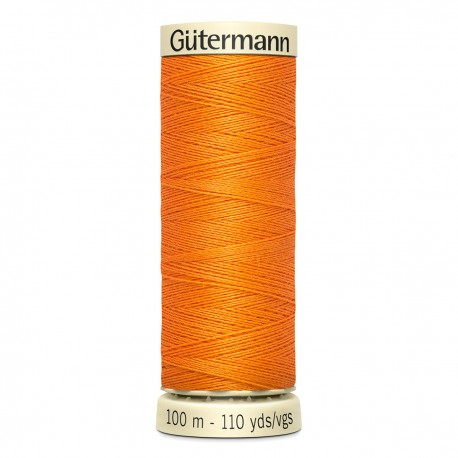 Gütermann sewing thread orange (350)