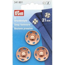 Prym press studs to sew 21mm
