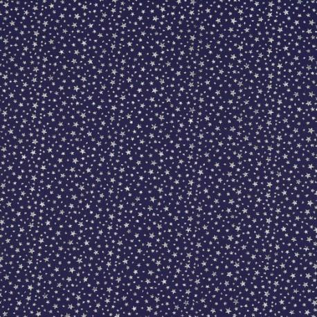 Glitter stars cotton