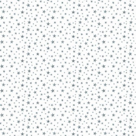 Cotton glitter stars