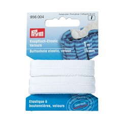Prym buttonhole elastic velour - 1m